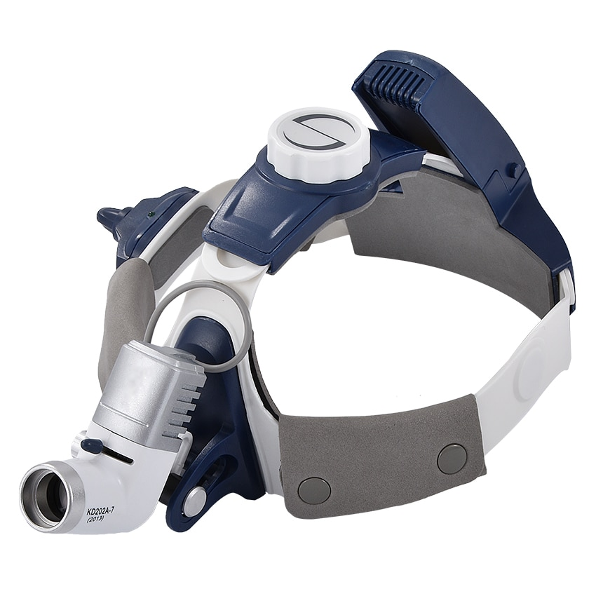 Faro quirúrgico profesional KD-202A-7 luz led médica recargable faro Dental altura de brillo ajustable 5 W 50000 h