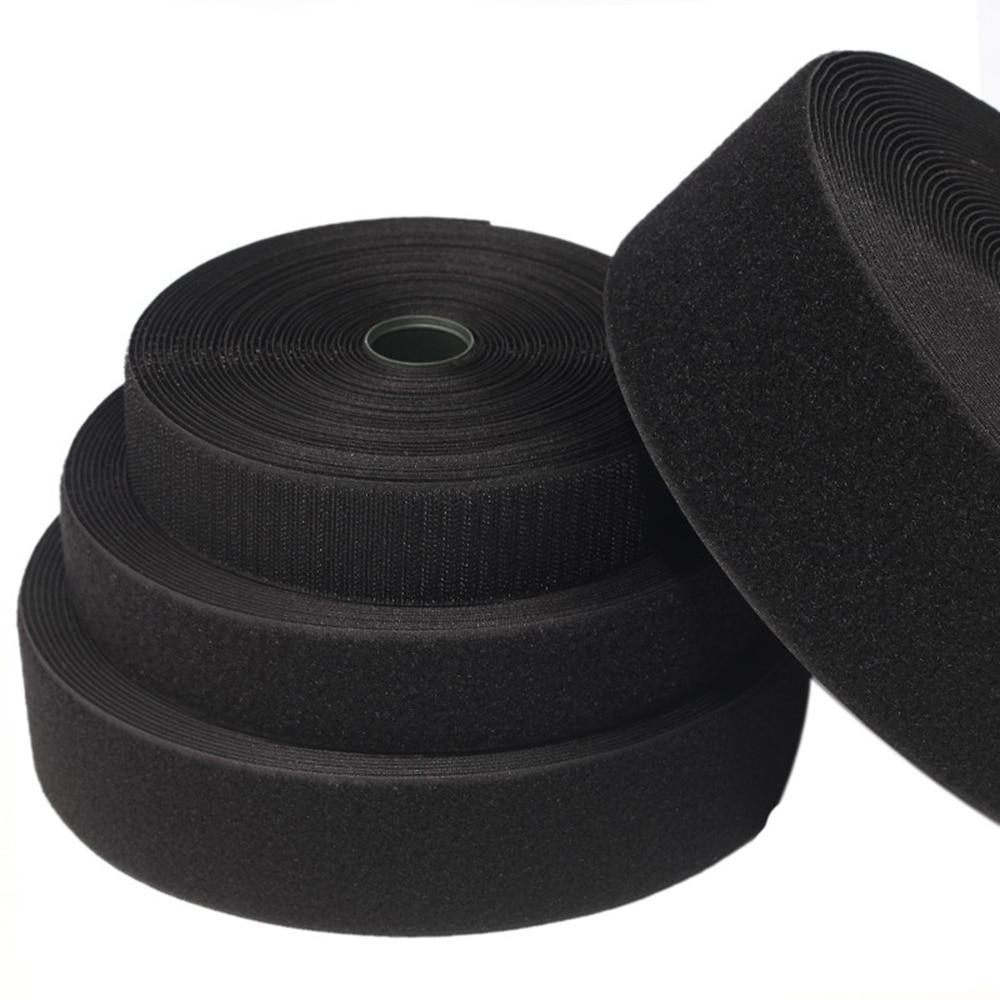 5 M 16-100 мм клей крюк и петля лента с липучками для шитья-на крючках липучками клейкая лента-липучка «Magic tape» «сделай сам»