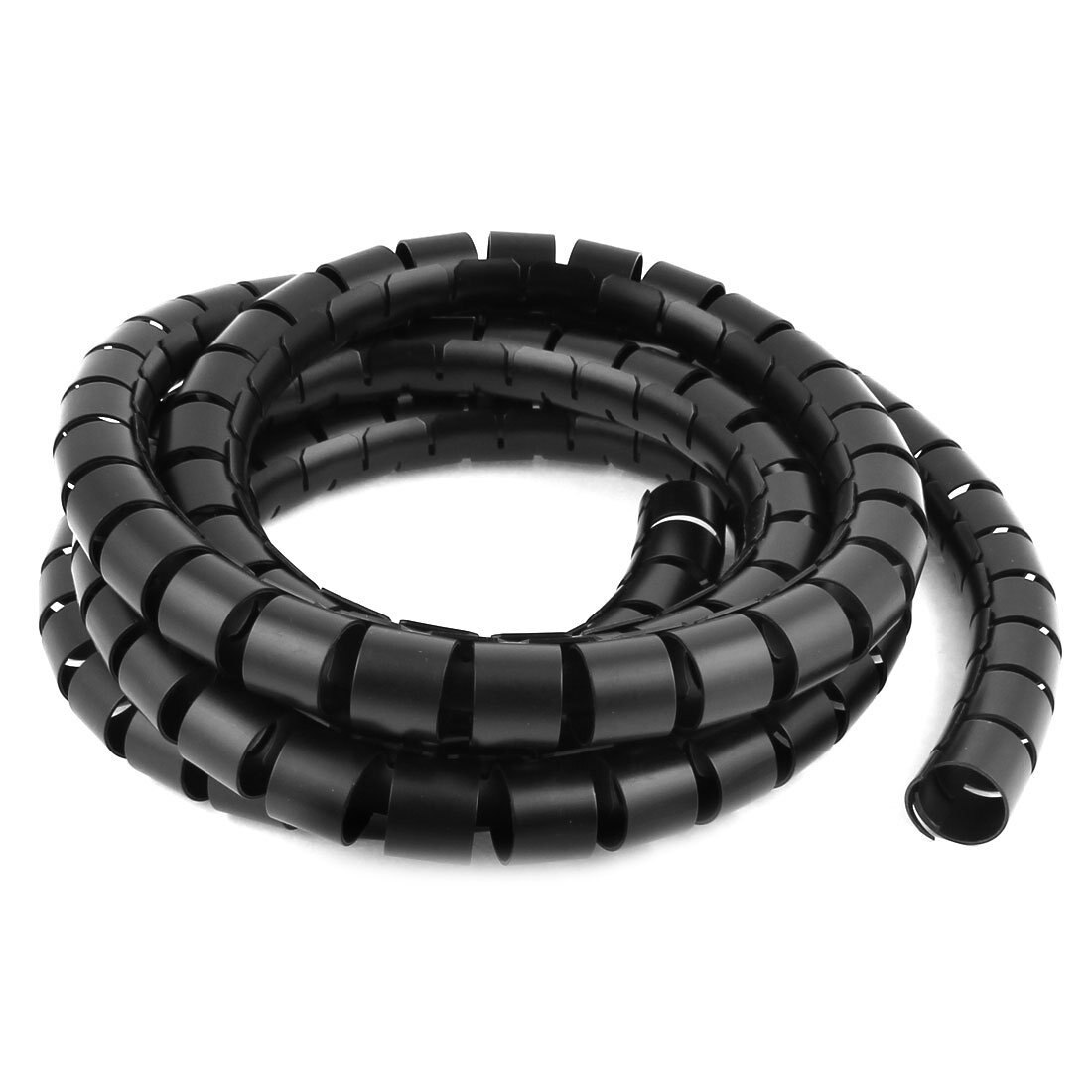 Tubo espiral de alta calidad, Cable de envoltura de Cable, gestión del Cable de la computadora, 30mm x 3M, negro