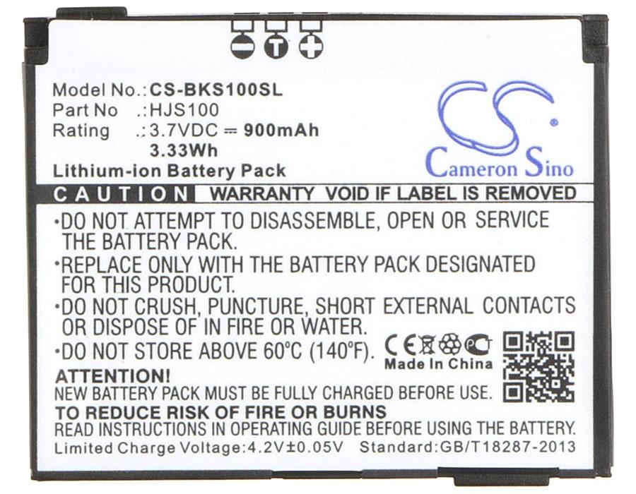 Cameron Sino 900mAh Battery for Becker HJS 100, HJS-100, Map Pilot