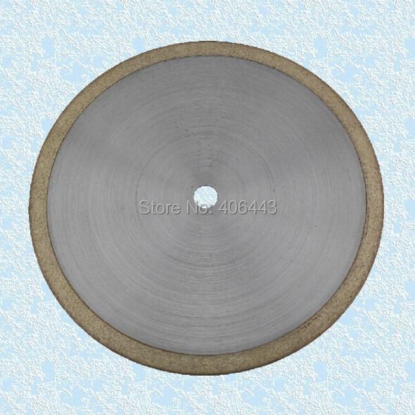 "4"" Ultra Thin Continuous Rim Diamond Sintered Lapidary Blades"