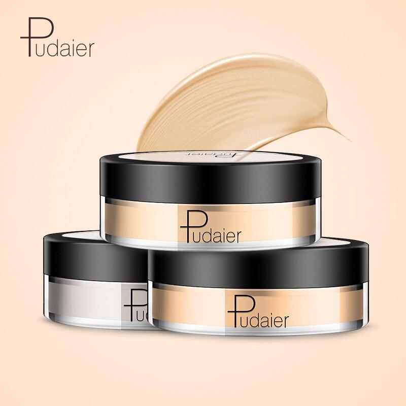 Pudaier-crema Base de labios, crema Base de ojos, corrector humectante, Primer Mineral de Maquillaje Profesional para rostro