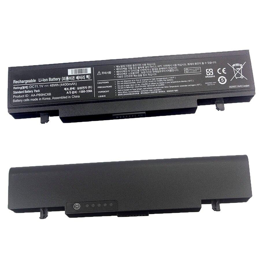 بطارية كمبيوتر محمول ل سامسونج AA-PB9NC6B AA-PB9MC6B NP300V5A R505 R540 R720 R580 R530 RV515 Q430 R420 R480 RF510 RV510 NP550P5C