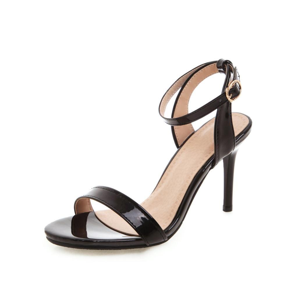 2019 New Women Sandals Patent Leather Women High Heels Shoes Gold Sexy Women Pumps Fashion Wedding Shoes Women stiletto