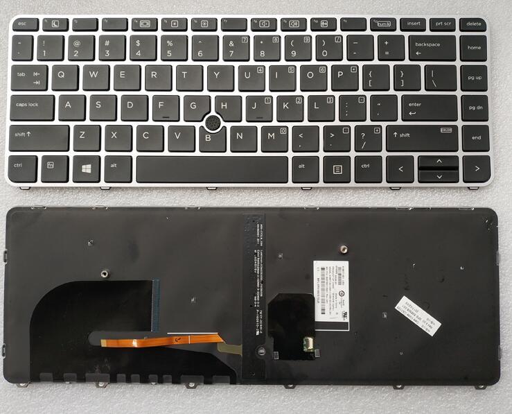 Teclado para HP EliteBook 745 G3 745 G4 840 G3 840 G4 848 G3 848 G4 nos diseño