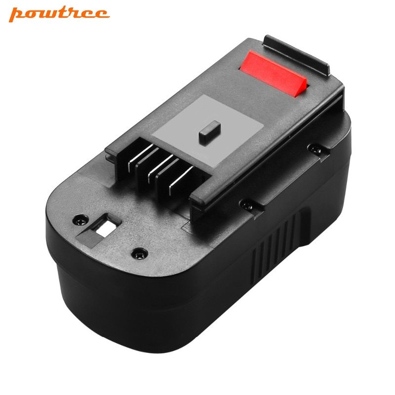POWTREE 3500mAh 18V Ni-MH HPB18 batería recargable para BLACK & DECKER A18 A1718 A18NH HPB18 HPB18-OPE FS1800CS FS1800D FS180 L10