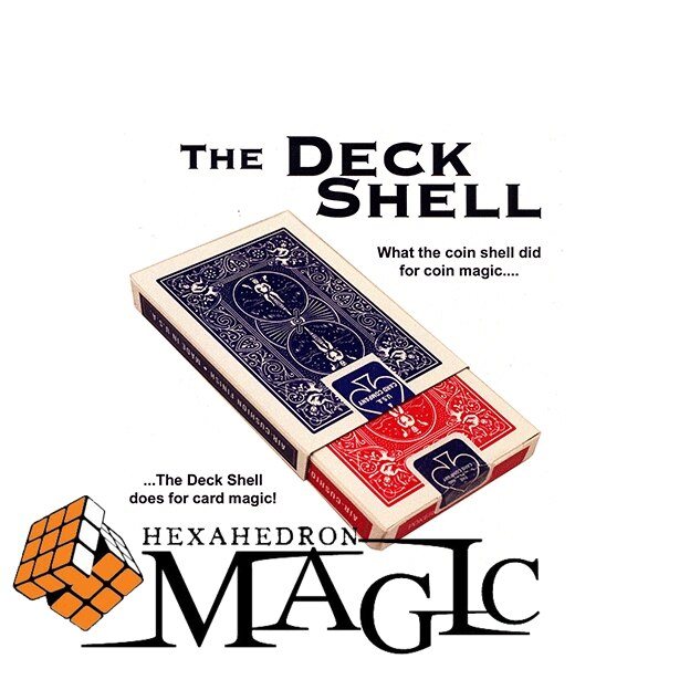 Coque de pont en métal de haute qualité (bleu) accessoires de collection Chazpro carte de gros plan produits de tour de magie en gros