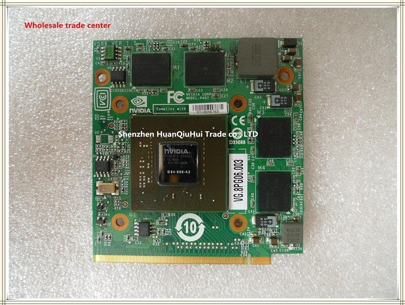 Видеокарта nVidia GeForce 8600M GT 8600MGT MXM II DDR2 512M G84-600-A2 для ноутбука Acer 4520G 5520G 5920G 7720G 6930G