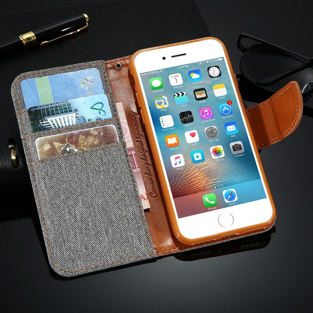Kisscase stań portfel przerzuć przypadki dla iphone 6 6s 7 5 5S mody hit kolor slot kart skóra pokrywa dla iphone 7 6 s plus z logo 47