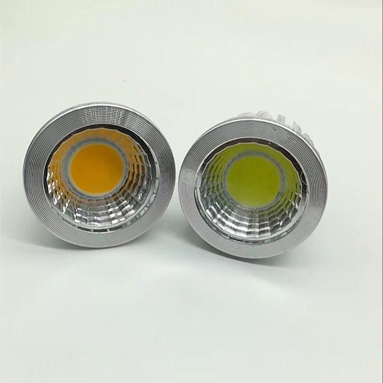 10pcs/lot GU10/MR16/E27 COB dimmable Spot Light Bulb Lamp 3W 5W 7W replace the 55w/65w/85w Halogen lamp
