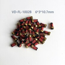 20 peças de qualidade superior injector combustível micro filtro com 10.7*6*3mm asnu003 para denso injector toyota VD-FL-1002B