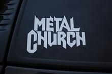 Metall Kirche Vinyl Aufkleber Aufkleber (V264) Rock Metall Death Wählen Farbe 15cm