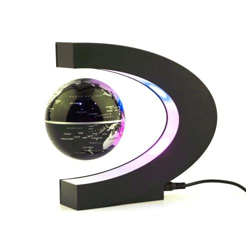 1Pcs home Decoration Magnetic Levitation Floating Teach Education Globe World Map Decor Santa Gift US/EU Plug