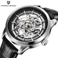 PAGANI DESIGN Luxury Brand Watch Men 2019 Skeleton Hollow Men's Wrist Watches Mechanical Watch Relogio Masculino montre homme