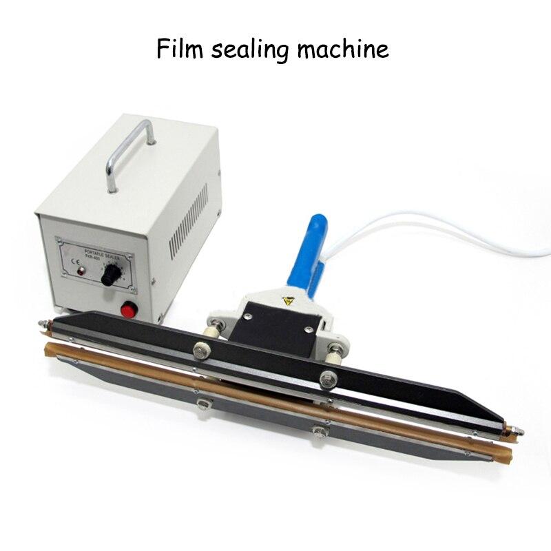 آلة تعبئة فيلم البولي ايثيلين PE ، آلة الختم بالتسخين الفوري بمقابض ، محمولة