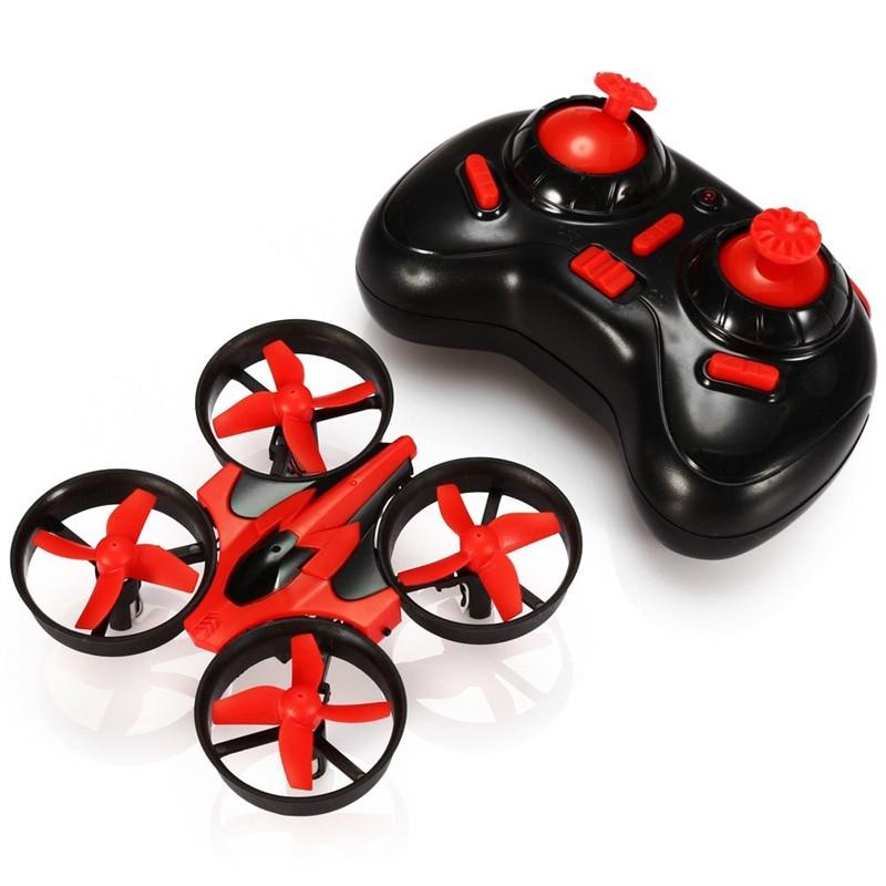 Everyine-كوادكوبتر صغير E010 RC ، 2.4G ، 4 قنوات ، 6 محاور ثلاثية الأبعاد ، وظيفة ذاكرة مقطوعة الرأس ، RTF RC ، هدية صغيرة