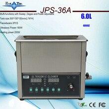 Le plus nouveau JPS-36A intelligent de décapant ultrasonique 220v 6L mufti-fonctions avec le balayage, le dégazage et la puissance réglables pour des baords de circuit