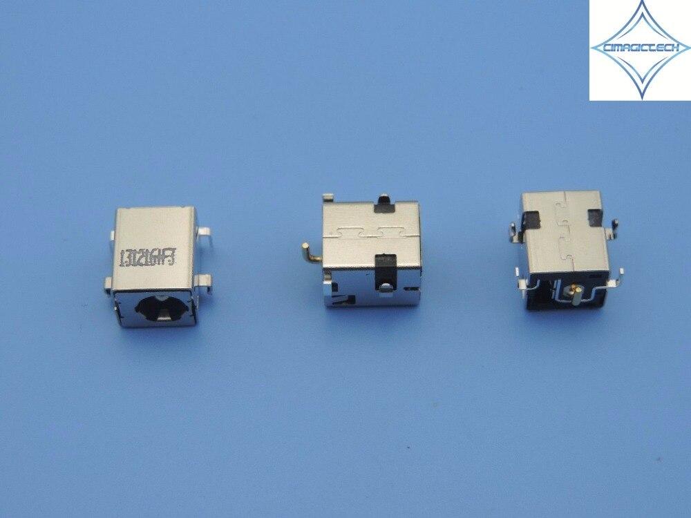 Original nuevo 2,5mm para ASUS A52 X52 X54 X52J X52F K52 U52 K72 K72F A54 A54C K53 K53E K53S U30 portátil conector DC power jack