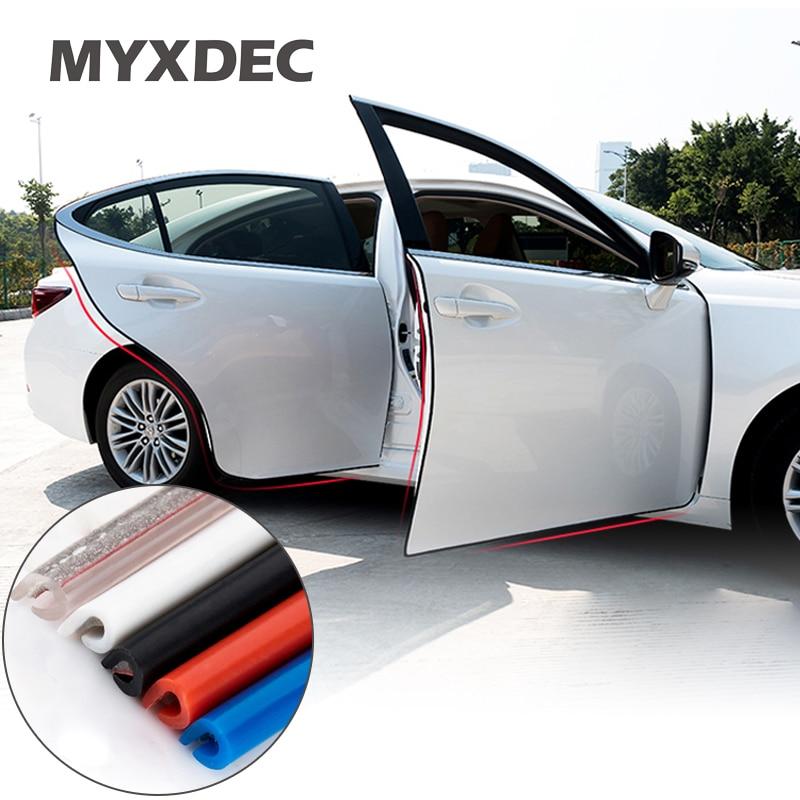 2020 New Open The Door Car Anti Collision Auto Door Collision Avoidance Stick Rubber Strip Decoration Stickers Car Accessories