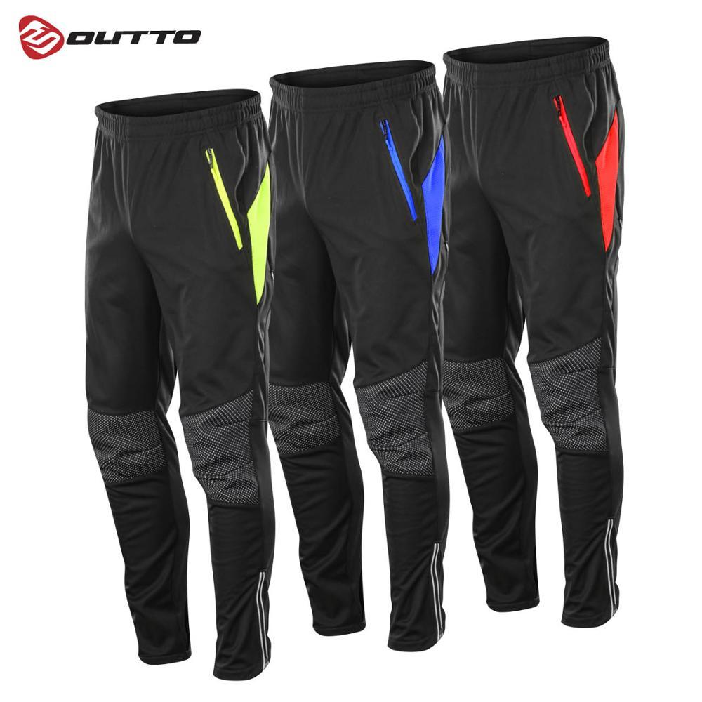 Мужские утепленные флисовые водонепроницаемые штаны Outto, зимние ветрозащитные дышащие спортивные штаны
