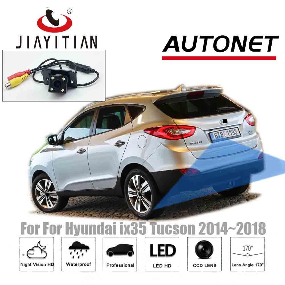 JIAYITIAN car Rear View Camera For Hyundai ix35 2014 2015 2016 2017 2018/Reverse Camera CCD/Reserved hole camera backup camera