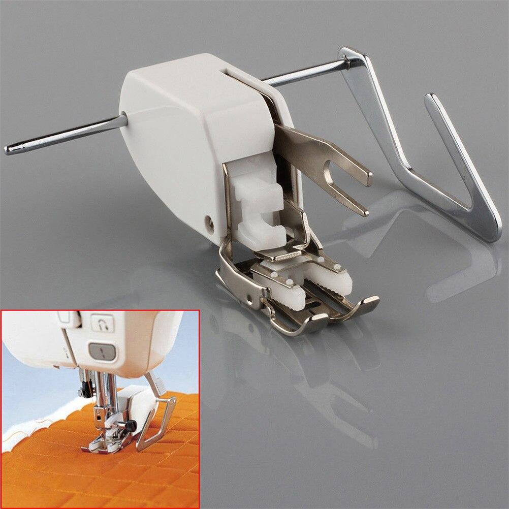 Prensatelas de pie para coser ropa para caminar, incluso alimentar, tela de costura para máquina de coser de caña baja para manualidades