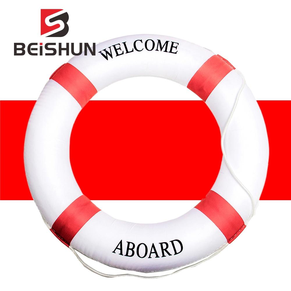 Lifebuoy de espuma sólida, engrosamiento doble, anillo salvavidas flotante de natación, salvavidas, accesorio deportivo para nadar