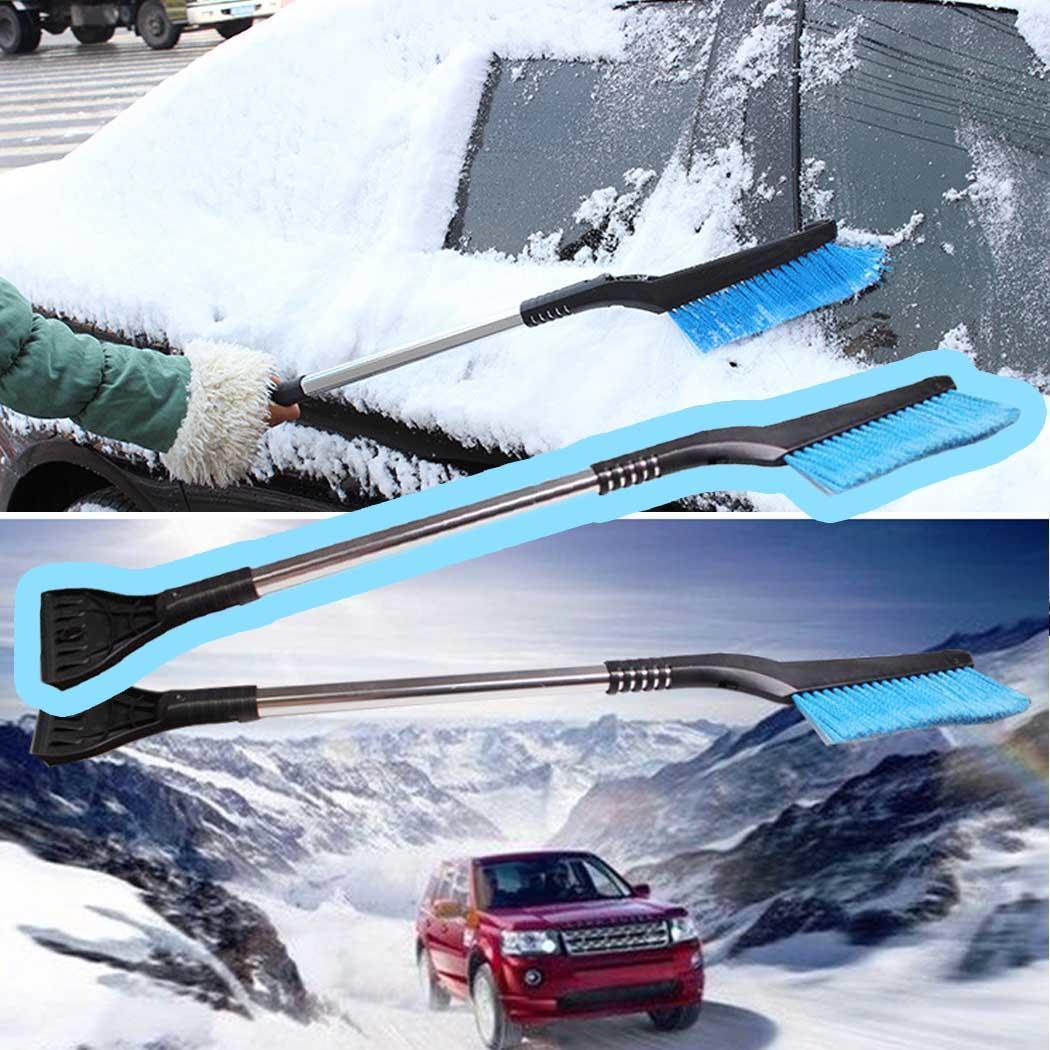 Снегоочиститель Выдвижной Автомобильный зимний скребок для снега и льда Лопата
