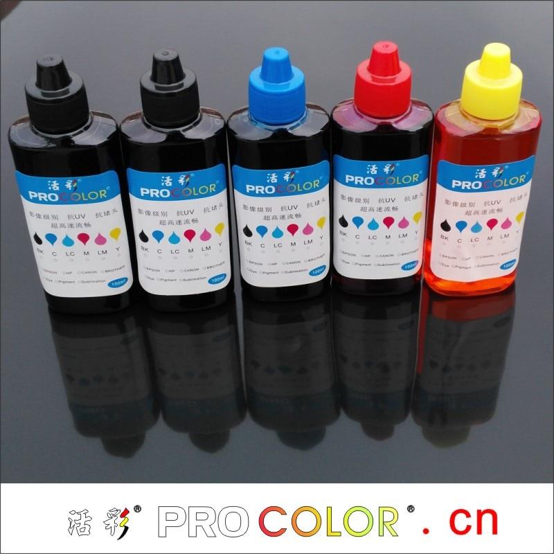 Kit de recarga de tinta GI 790 BK pigmento GI-790 C M Y para impresora Canon PIXMA G1000 G1010 G2000 G2002 G2010 G3000 G3010 G4000 G4010