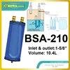 10.4L מצבר עם 1-5/8 צינור הוא geat בחירה עבור 20 ~ 30HP HBP מדחס יחידה כגון ZR250 310 ו 380KCE