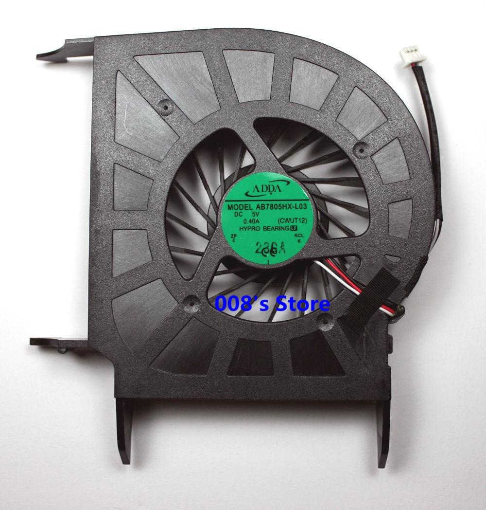New CPU Laptop Cooler Ventilador Do Radiador Para HP Pavilion DV6Z-1100 DV6-1000 DV6-1100 DV6-1200 DV6-1300 1215SA AB7805HX-L03 CWUT12