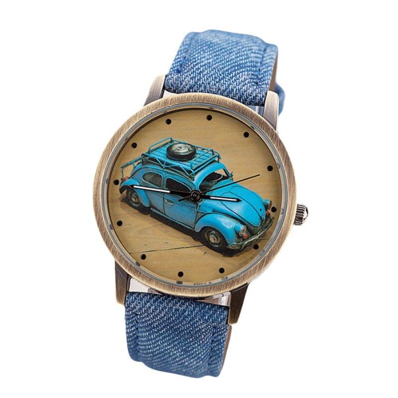 Reloj Susenstone 2019 para niños, reloj para niños y niñas con estampado de coches, reloj de pulsera informal deportivo de lujo a la moda, regalo de Navidad