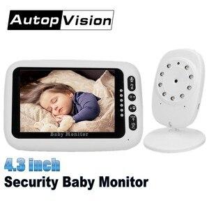 Security 4.3 inch Wireless Baby Monitor LCD Display Baby Camera Video Smart Camera 2 Way Talk Night Vision Baby Nanny Camera