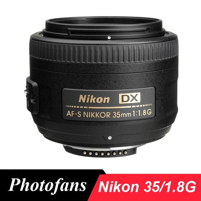Nikon 35/1,8G Objektiv AF-S 35mm f/1,8G DX kamera Linsen für Nikon D3400 D3300 d3200 D5500 D5300 D5200 D5600 D7100 D7200 D7500