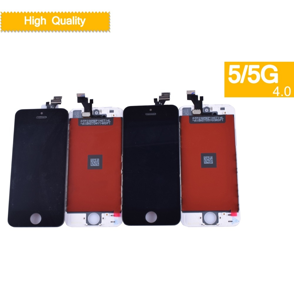 10Pcs/lot For iphone 5 SE 5C 5S Display Touch Screen Digitizer Replacement Assembly for iPhone 5S monitor LCD Complete SE enlarge