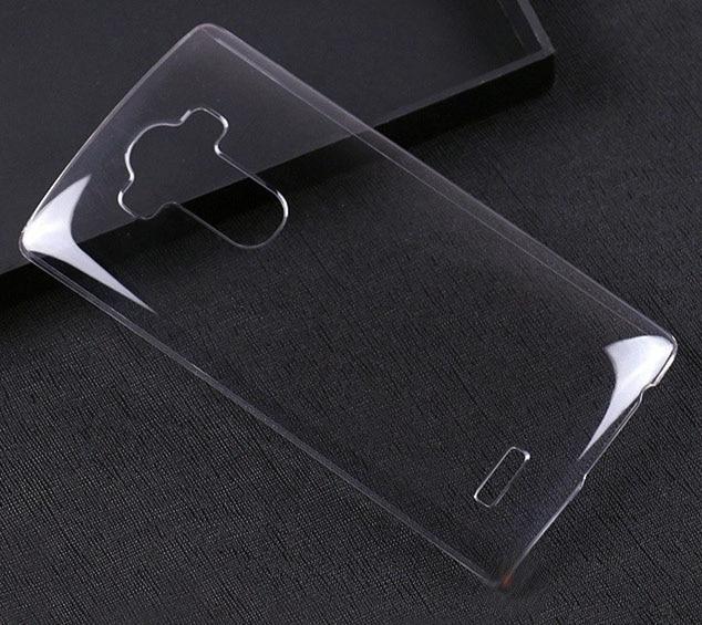 Para LG G4 funda para LG G3 transparente teléfono LGG4 Crystal Clear beauty hard shell G2