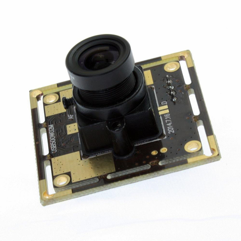 5 Megapixel OV5640 micro mini CCTV Cmos Board Usb camera with 12mm lens , usb webcam High resolution 5MP