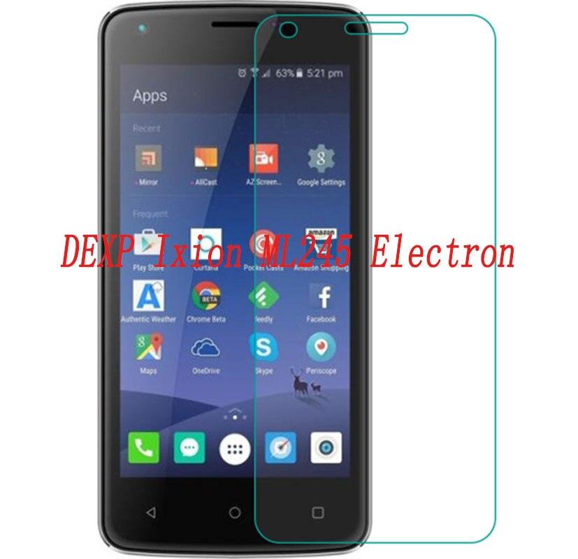 Smartphone verre trempé pour DEXP Ixion ML245 électron 9 H Film de protection antidéflagrant écran protecteur téléphone de couverture