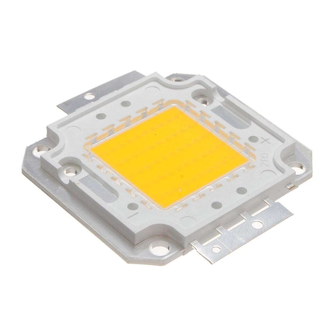 Светодиодный чип высокой мощности, 50 Вт, 4000LM, супер яркий COB точечный светодиодный светильник, чипы, Чистый/теплый белый 2 вида цветов