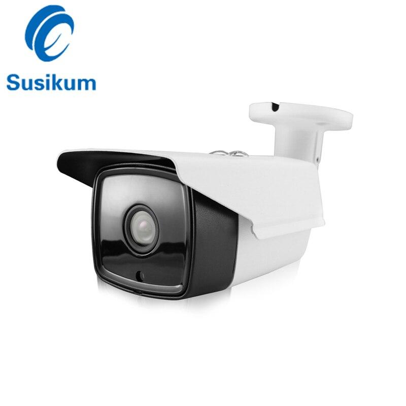 IMX307 Sensor 2MP AHD Camera 0.0001Lux Color Day and Night Vision Bullet Outdoor Camera 3.6mm Lens 1080P Analog AHD CCTV Camera