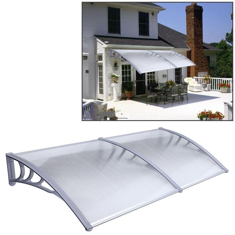 1 м x 2 DIY наружный из поликарбоната чехол для передней двери окна тента патио canopy
