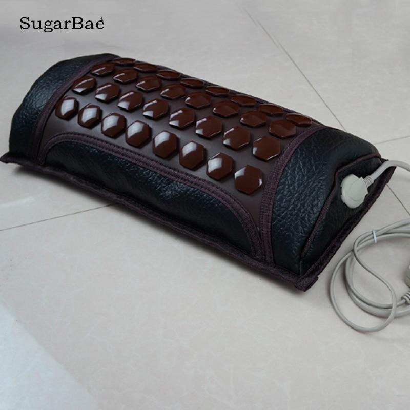 Health Pillow Korea Thermal Tourmaline Cushion Heating Pad Medical Germanium Health Cushion Free Shipping