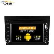 Android8.0 Octa core Car DVD CD player GPS navigation Stereo for Porsche 911 997 2005-2008 BOXTER 2005-2012 autoredio multimedia