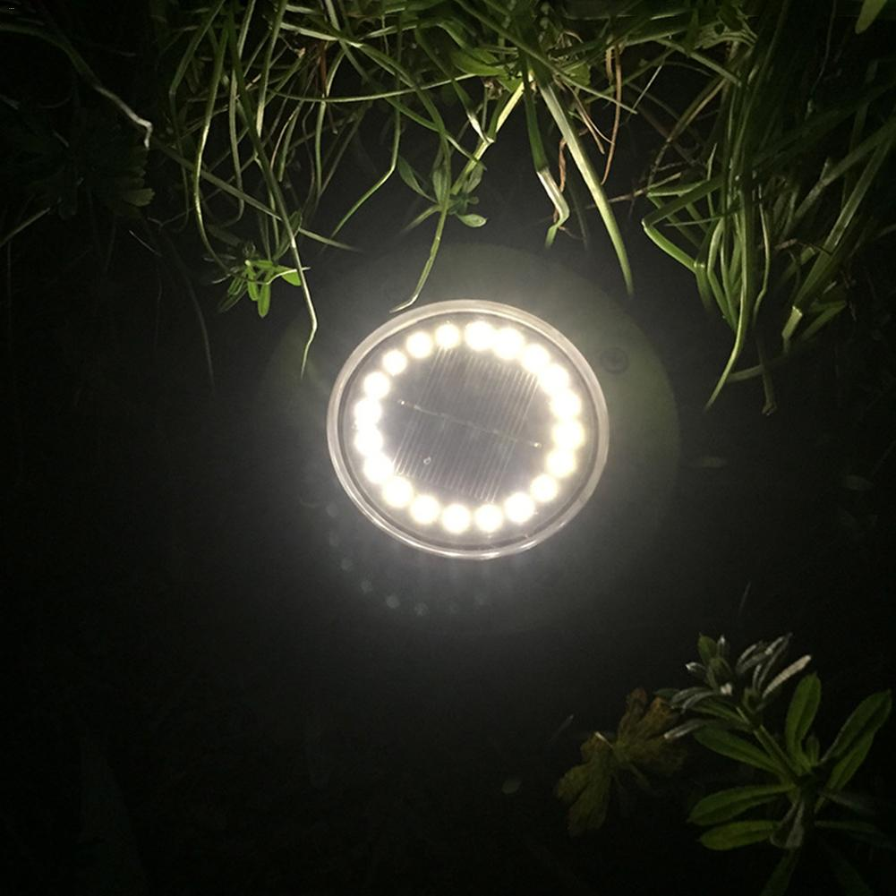 IP65 20 LEVOU Movido A Energia Solar Luzes Lâmpada Do Gramado Ao Ar Livre Do Solo Enterrado Luzes À Prova D Água para Jardim Gramado Courtyard Driveway Caminho