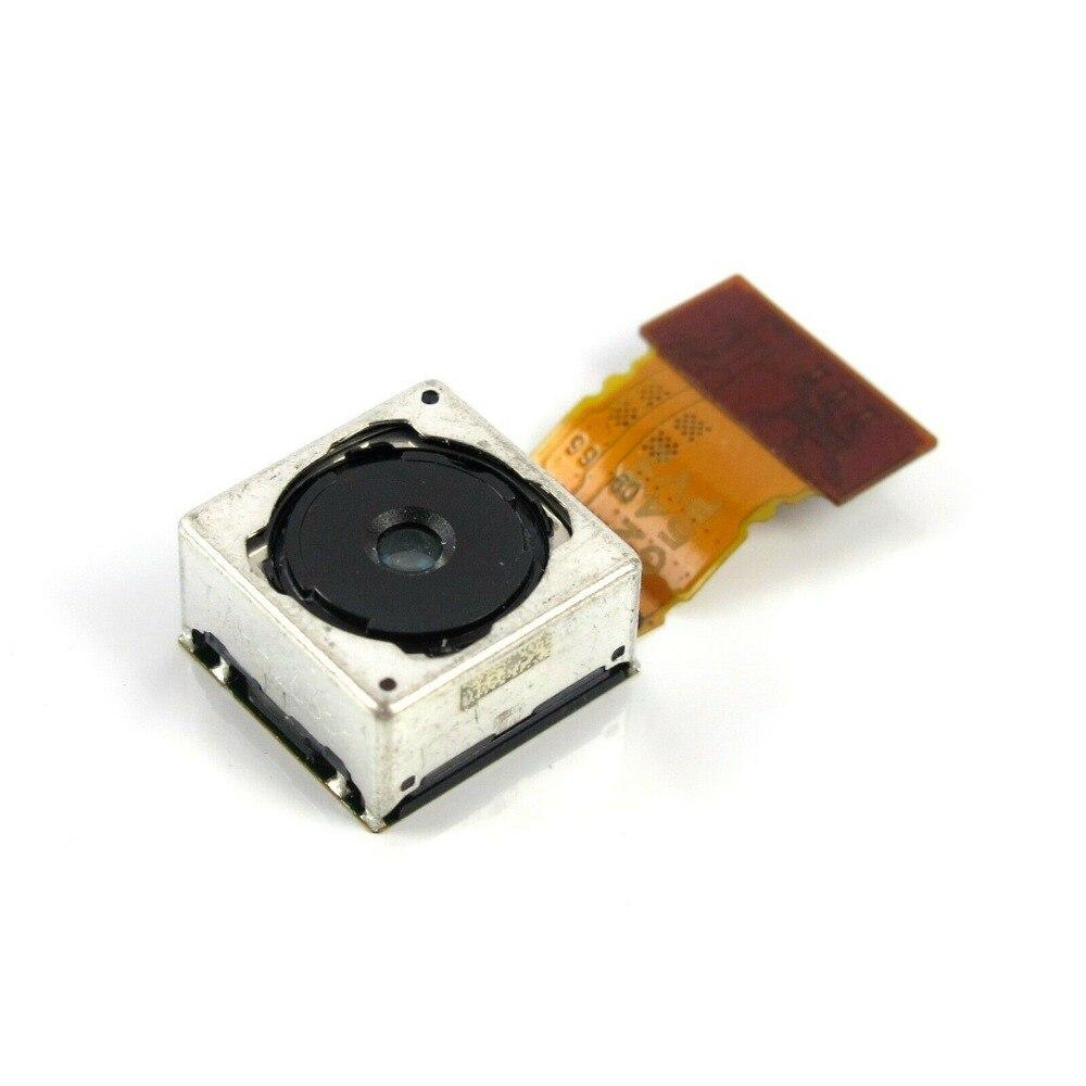 20.7mp original principal voltar câmera traseira módulo flex para sony xperia z3 d6633 d6643 d6653 d6616 traseira grande câmera principal
