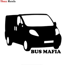 Drei Ratels TZ-943 #14*20cm 1-3 stück vinyl auto aufkleber bus mafia für Renault Trafic auto auto aufkleber