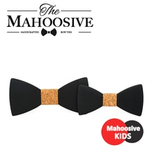 Gravatas Corbatas wedding bow tie male groom France British suits women kids suit Wood wooden bow knot men black bow tie Combo