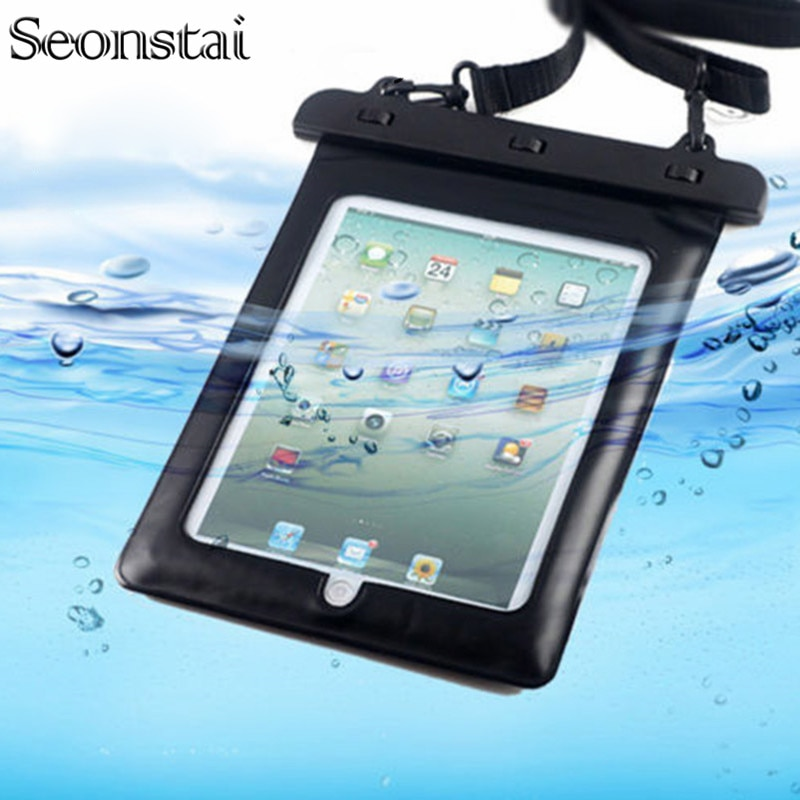 Funda impermeable Universal para tableta de 9,7 pulgadas Ipad 2018 iPad Pro10.5 Air2 funda protectora para bolsa seca funda para tableta bolsa