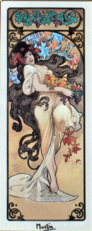 Amatista II Alphonse Mucha arte decoración del hogar pinturas de calidad pintadas a mano