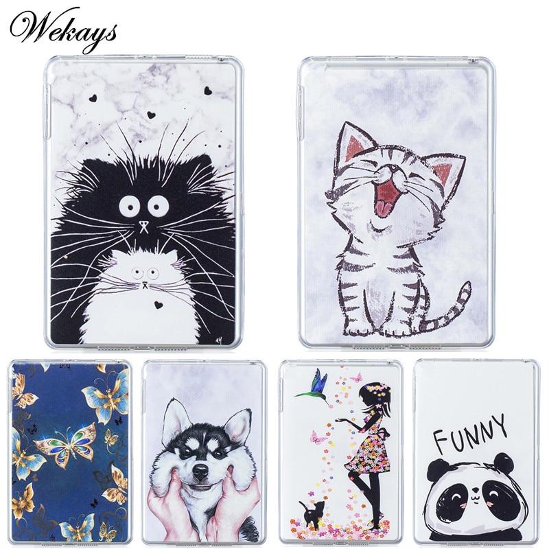 Wekays For Samsung Tab A 2016 7.0 T280 Cartoon Soft Silicone Fundas Case For Samsung Galaxy Tab A6 7.0 inch T280 T285 Cover Case